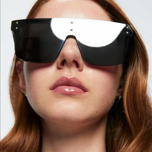 Zara mirror lens sunglasses